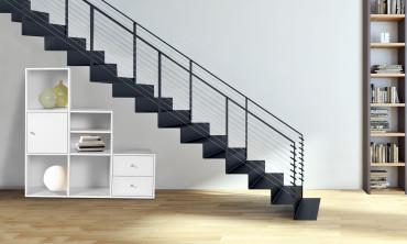 Meuble escalier 3 niveaux