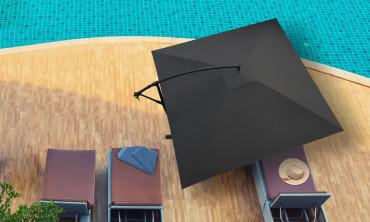 Parasol déporté carré