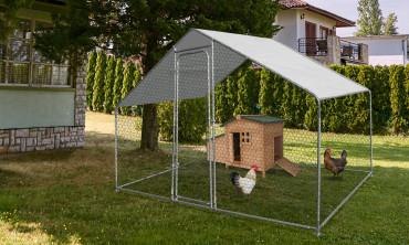 Enclos à poules 3m²
