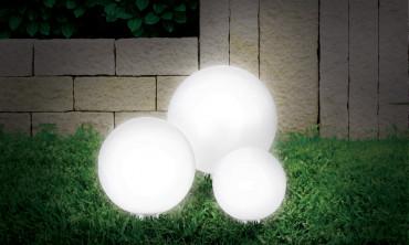 Lampe boule solaire 15cm