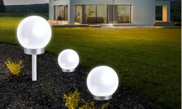 Lampe boule solaire 30cm