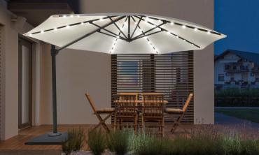 Kit LED solaire pour parasol
