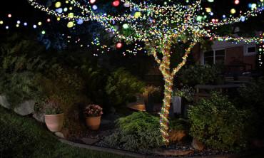 Guirlande solaire jardin...