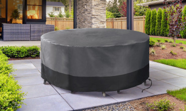 Housse de protection table ronde