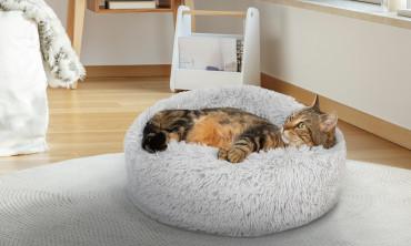 Coussin pour chat 60cm - Gris