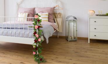 Plante artificielle - Roses suspendues
