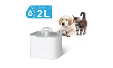 Fontaine à eau 2L / distributeur automatique pour chien et chat