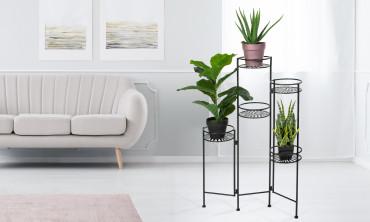 Porte plantes métal 5 niveaux