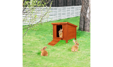 Abri en bois petits animaux