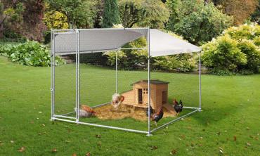 Enclos métal Eldorado 4 m²