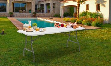 Table pliante d'appoint 240cm