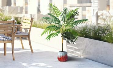 Plante artificielle - Palmiers 80cm