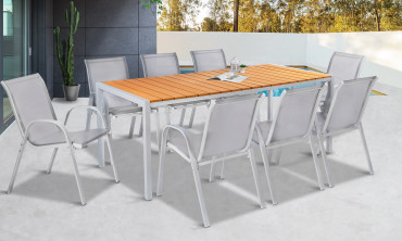 Table extérieure polywood Palma 190cm