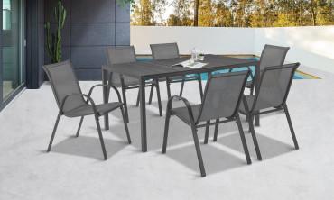 Table extérieure polywood Palma 150cm