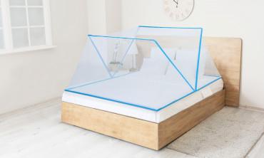 Moustiquaire pliable pour lit 140 x 190cm