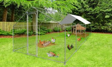 Enclos extérieur animaux 18m²