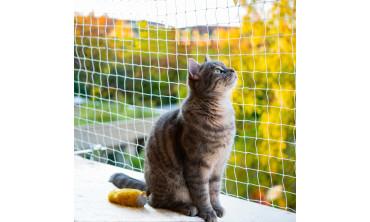Filet de sécurité balcon pour chat