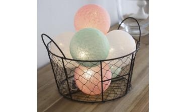 Guirlande lumineuse 6 boules