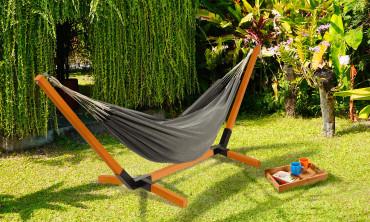Hamac Punta Cana support bois